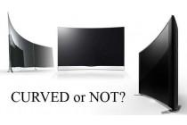 Nên mua tivi màn hình cong hay thẳng?