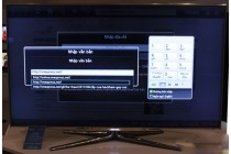 Khắc phục tivi Samsung không gõ số được trên bàn phím không dây