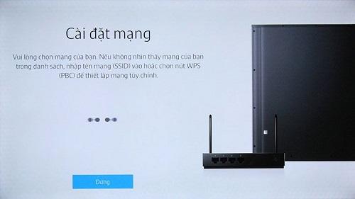 hướng dẫn tự kiết nối mạng Smart TV Samsung