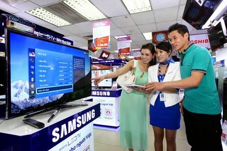 kiểm tra tình trạng bảo hành TV Samsung