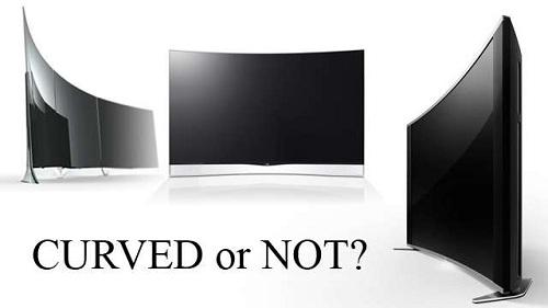 mua tivi màn hình cong hay thẳng