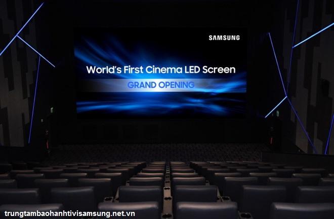 Samsung dùng siêu phẩm LED Cinema 4K thay thế máy chiếu rạp chiếu phim 12
